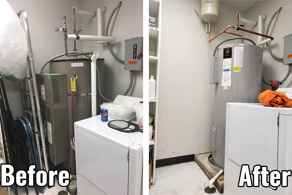 Should you repair or replace your commercial water heater?